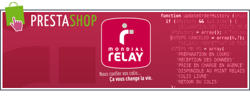 Prestashop-MondialRelay
